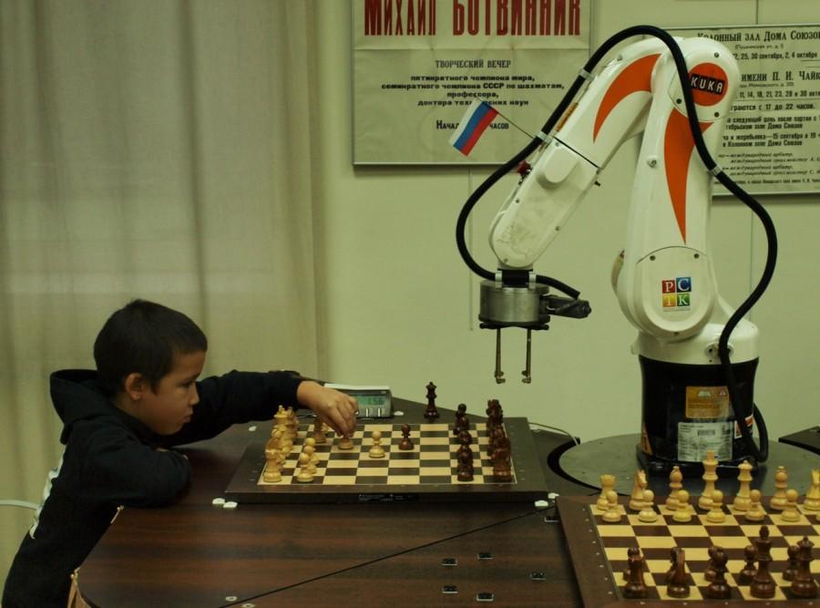 Юные воспитанники шахматной школы